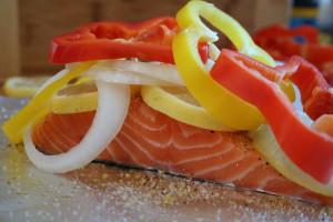 Assembled Salmon