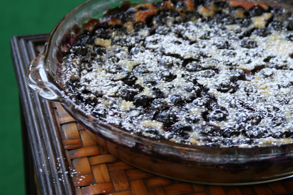 Powdered Clafoutis